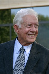 Jimmy Carter The former president of the United State